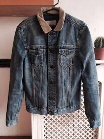 All Saints jean jacket Size M