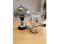 Old Fashioned Touch Lamps (x2)