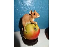 Country artists Woodmouse on apple Ornament