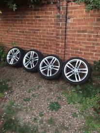 1 Series M Sport 18inch alloys (can be sold individually)
