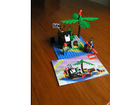 Vintage Lego Kit - 6260 Shipwreck Island from 1989