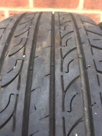 Two 205X55X16 Tyres