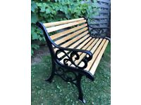 Cast iron old bench very good condition