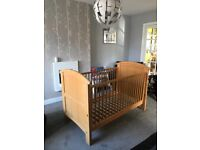 Cosatto Hogarth cot bed, Wardrobe and changing table