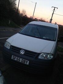 VW caddy van . In good condition