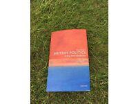 British Politics - A Very Short Introduction (Tony Wright)