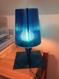 Kartell Blue Lamp ( take model)