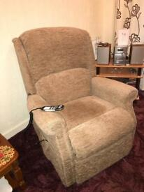 Three Piece Suite - inc...2 Electric Reclining Armchairs