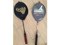Badminton Rackets x 2