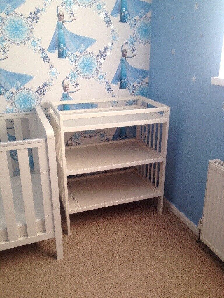 White Baby Changing Unit In Llanrumney Cardiff Gumtree