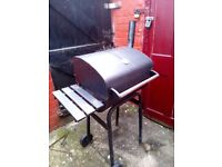 Barbeque on charcoals