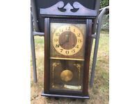 Neat Pendulum Wind up Wall Clock, works well, keeps good time, excellent chimes must collect