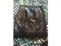 Leather skirt from Newlook (10)