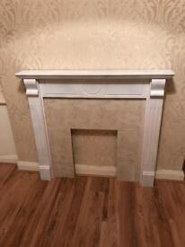 Fireplace/ Mantelpiece/ Hearth like new