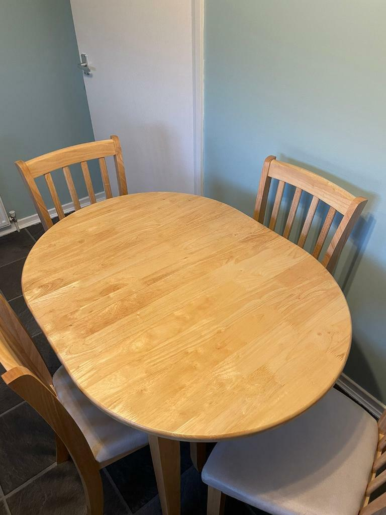 Dining Table Chairs Set In Knightswood Glasgow Gumtree