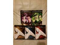 Star Trek The original series 1-3 + 2 Star Trek Enterprise Dvd box Sets