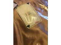 Love Label High Shine Trousers Bronze New with Tags!