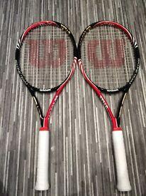 Wilson six.one team BLX rackets