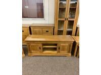 JB Global solid oak TV Cabinet * free furniture delivery *