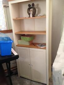 Dresser with cupboard and shelves