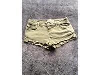 Topshop mini shorts