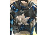Adidas hoodie Age 6-7 excellent condition