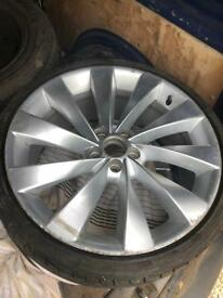 "18"" 5x112 scirocco reps alloy wheels vw audi"