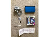 Nintendo 3DS XL Blue with 4GB storage