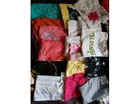 Bundle of girl tops