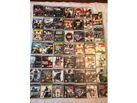 45 ps3 & 5 Xbox 360 games