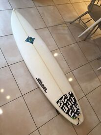 *** 6'6 Dominator shortboard surfboard by Dave Woods australia ***