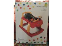 Mamas and Papas Activity Baby Walker - used a couple of times