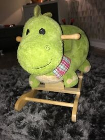 Baby Rocking dragon seat