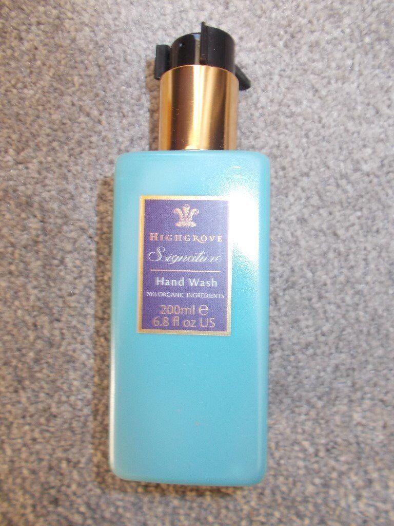 53e92669826 Brand new Highgrove Signature hand wash