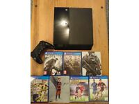 Sony PS4 500gb Console & 6 games