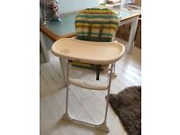Joie adjustable baby high chair