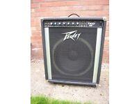Large Bass Amplifier Amp. Peavey TKO 65 Collect Sheringham Norfolk £60