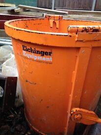 Circular Muck Skip 250ltr Eichinger Equipment