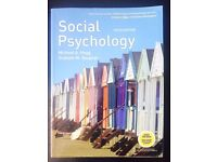 Social Psychology Textbook (Used - Good)