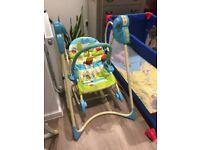 Fisher Price Baby Electric Swing