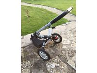 Quinny Buzz pushchair with carry cot
