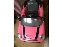 Mini electric toy car
