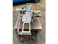 Myford Bench Planer and Thicknesser