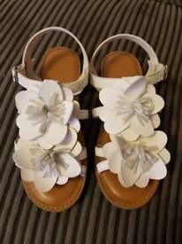 Next Girls Sandals Size 2