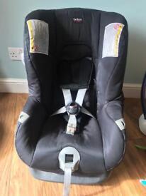 Britax car seat front and rear facing