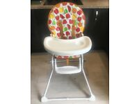 MotherCare Colourful Highchair