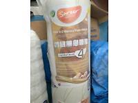 Sareer Matrah Small Double 4' (120cm) Ruby8+2 Memory foam mattress NEW still in shrink wrap