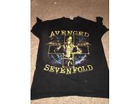 Avenged Sevenfold Tour Tshirt !