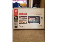 43 INCH SMART LED 4K TV BRAND NEW ONE YEAR WARRANTY