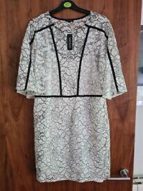 Brand new RIVER ISLAND lace dress